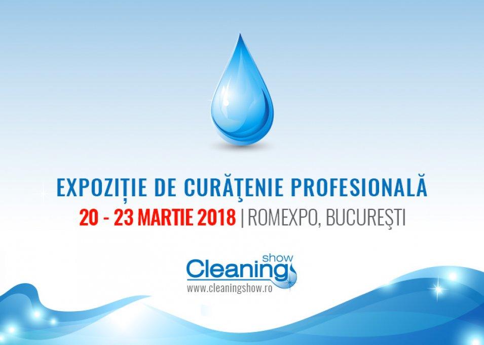 Peste 90 de brand-uri de renume prezente la Cleaning Show 2018