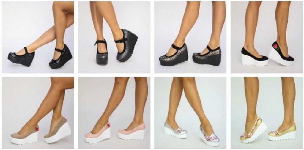 Pantofii cu platforma sau dovada ca moda se repeta