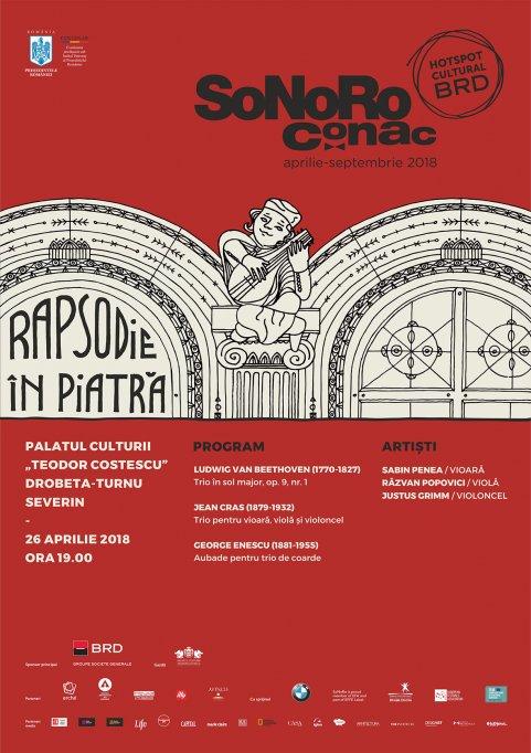 """""""Rapsodii în piatră"""" la cea de-a VI-a ediție SoNoRo Conac"""
