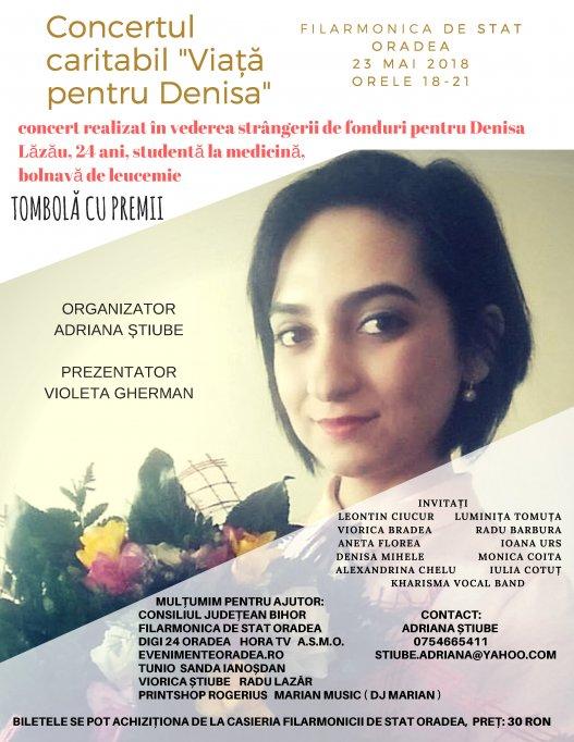 Concertul caritabil - Viață pentru Denisa