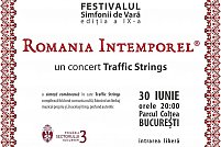 TRAFFIC STRINGS va invita sa audiați o sinteza româneasca