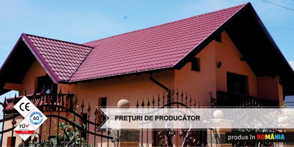 Pașii care trebuie urmați pentru cumpărarea și instalarea unui acoperiș din tablă tip țiglă metalică