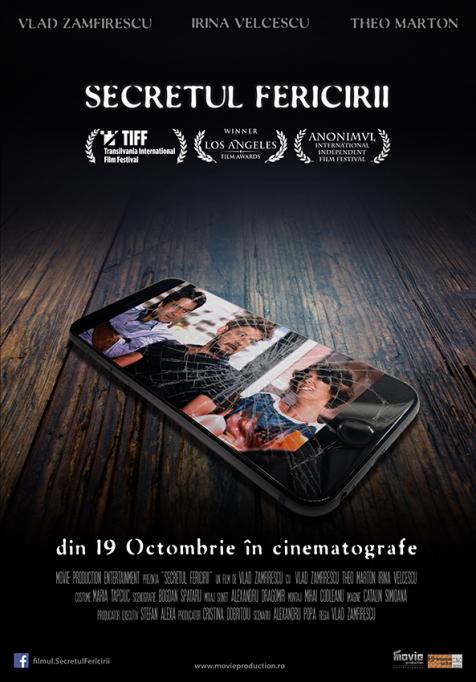 """""""Secretul Fericirii"""" se vede sâmbătă, 1 septembrie, la ARCUB"""