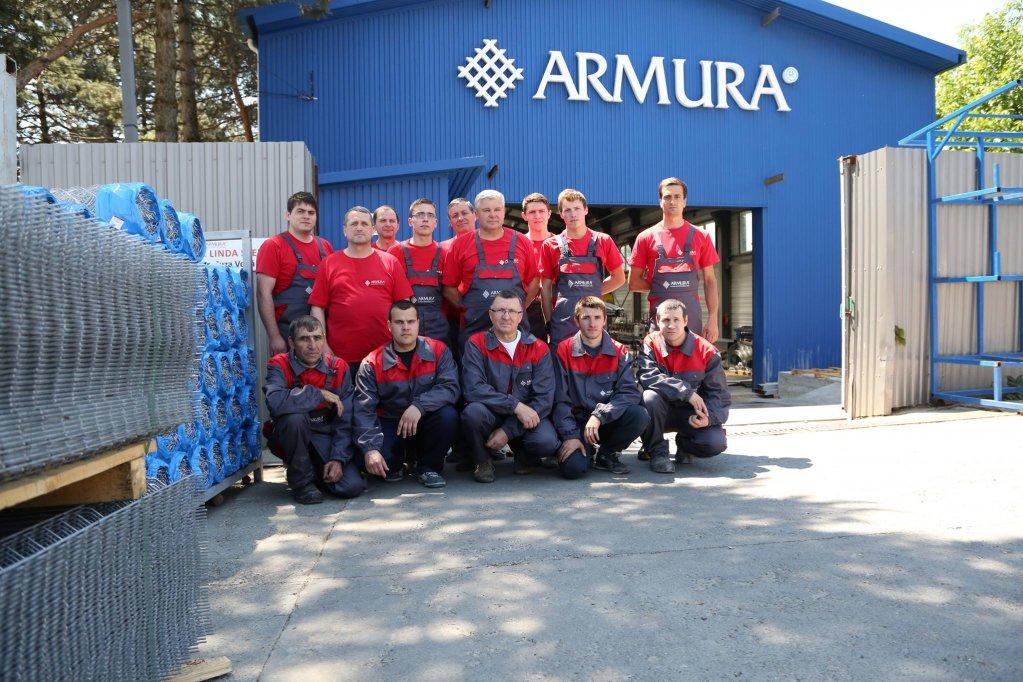 ARMURA® - lider în comercializarea de plasă sudată