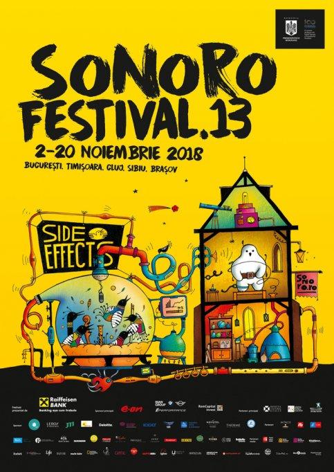 Noutățile celei de-a XIII-a ediții a Festivalului SoNoRo