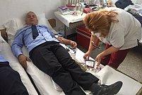 """Campania ,,Donează sânge și salvează o viață"""" a ajuns la sediul Jandarmeriei Arad"""""""