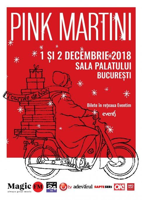 Pink Martini revine la Bucuresti