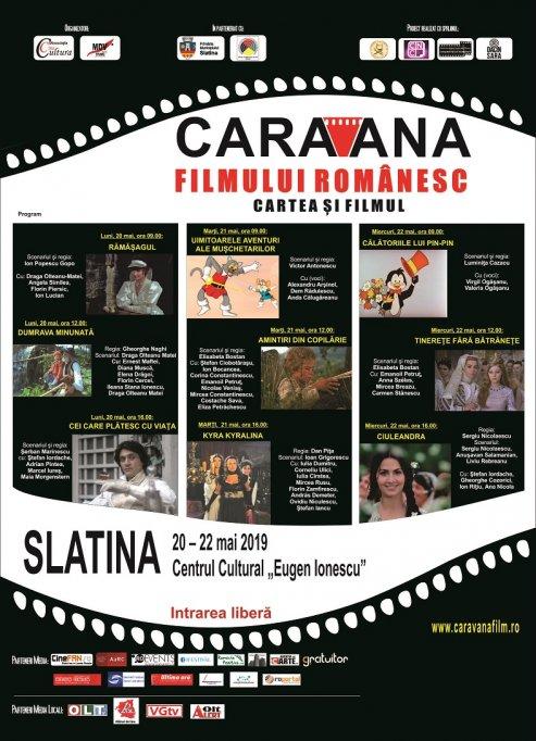 """""""Caravana filmului românesc - Cartea și filmul"""" pornește din nou la drum"""