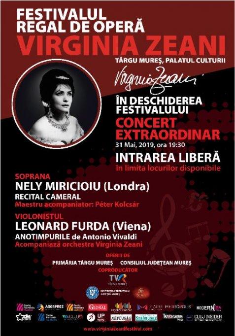 """Desciderea de gala a Festivalului Regal de Operă """"Virginia Zeani"""""""