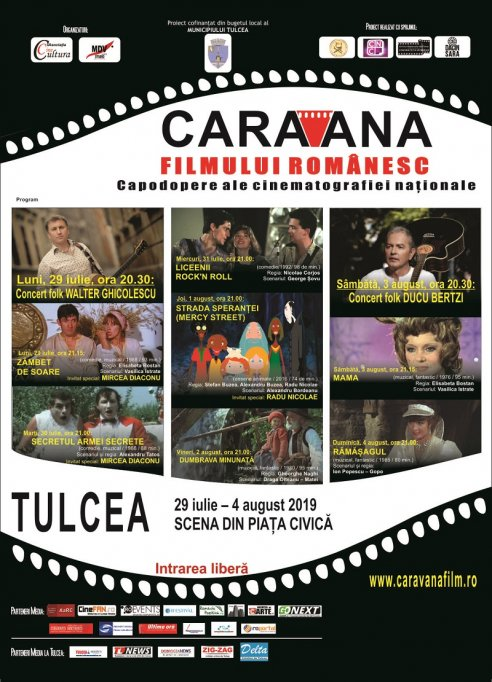 Caravana filmului românesc vine la Tulcea