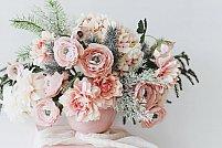 5 motive sa alegi bujori artificiali pentru decorul nuntii tale