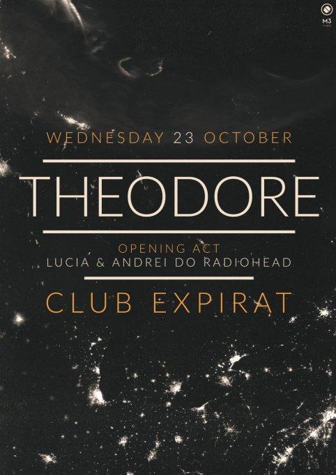 Formația Theodore (post-rock, Grecia) în concert la Expirat pe 23 octombrie
