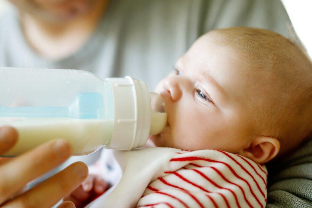 5 motive pentru a alege laptele praf Topfer pentru cel mic