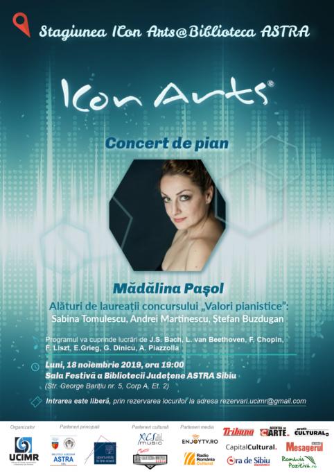 Concert de pian - Mădălina Pașol