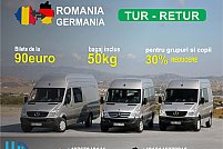 Modalitatile de transport catre Germania