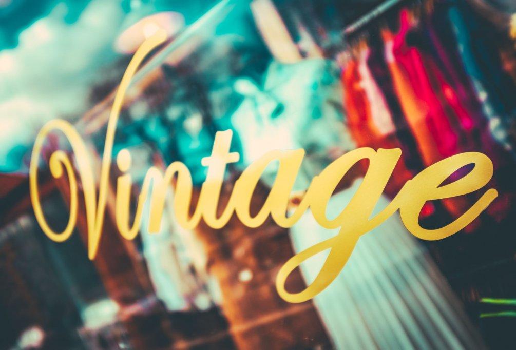 Vintage revine la modă - oportunități în retailul de fashion