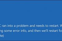 """Ce este eroarea """"ecranul albastru"""" și cum o poți remedia? Află aici!"""