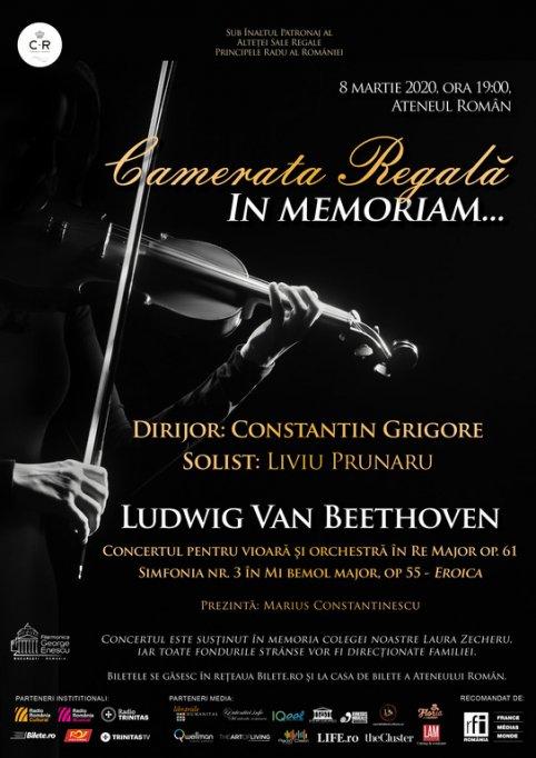 Liviu Prunaru revine în Stagiunea Regală într-un concert extraordinar