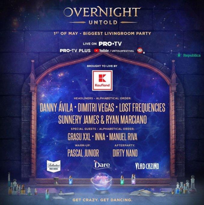 Vlad Cazino este partener al distracției la Overnight, cel mai mare party de 1 Mai