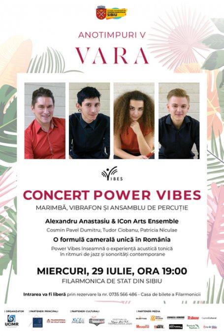 Concertul Power Vibes susținut de Alexandru Anastasiu & ICon Arts Ensemble