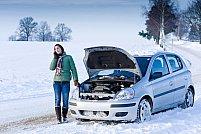3 Probleme auto cu care te poti confrunta  in timpul iernii