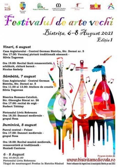 Festivalul de Arte Vechi la Bistrita