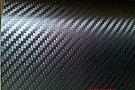 Folie carbon 3D neagra USA,1m X 1.5m