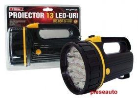 PROIECTOR 13 LED-URI CU BATERII