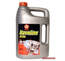 Ulei TEXACO HAVOLINE ULTRA 5W40 5L