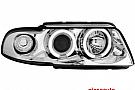 Faruri AUDI A4 B5 99-01  pozitie angeleyes  chrom
