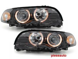 Faruri BMW E46 Coupe 98-02  pozitie angeleyes  negru