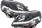 Faruri D-LITE VW Polo 9N3 05.05-09echipate cu lumina de zi LEDnegru