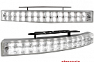 lumini de zi TFL cu 28 LED LxHxT 200x24x42mm (2 buc)