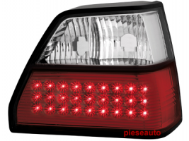 Stopuri LED VW Golf II 83-92 rosu/cristal