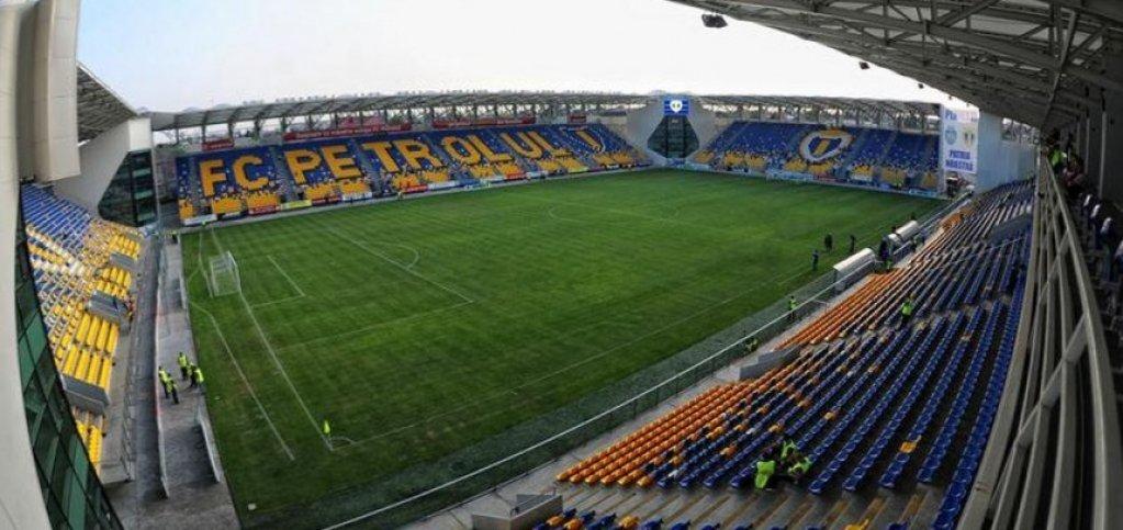 Stadionul Ilie Oana din Ploiesti